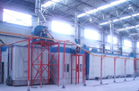 Import spray production line