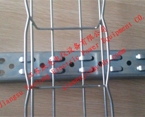 Steel mesh cable tray