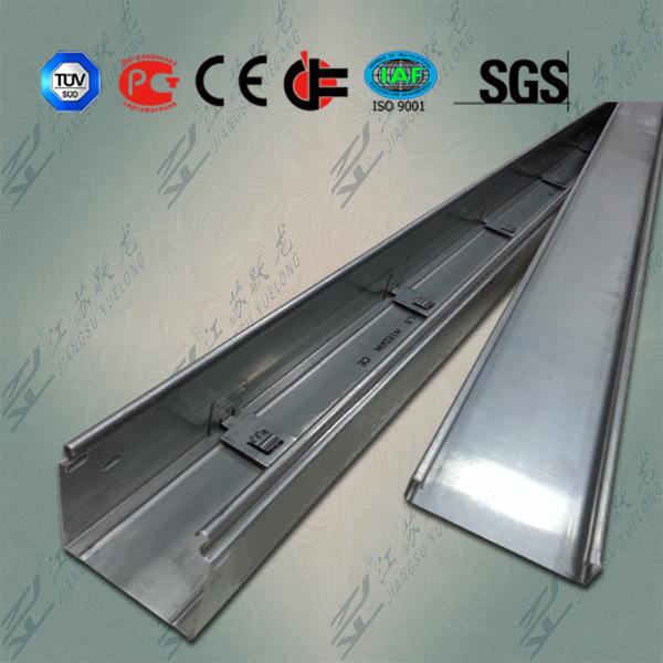 Indoor Stainless Steel Channel Cable Tray with CE